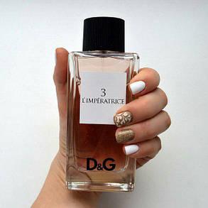 Духи/парфуми Dolce Gabbana Anthology L`Imperatrice 3   TESTER , фото 2