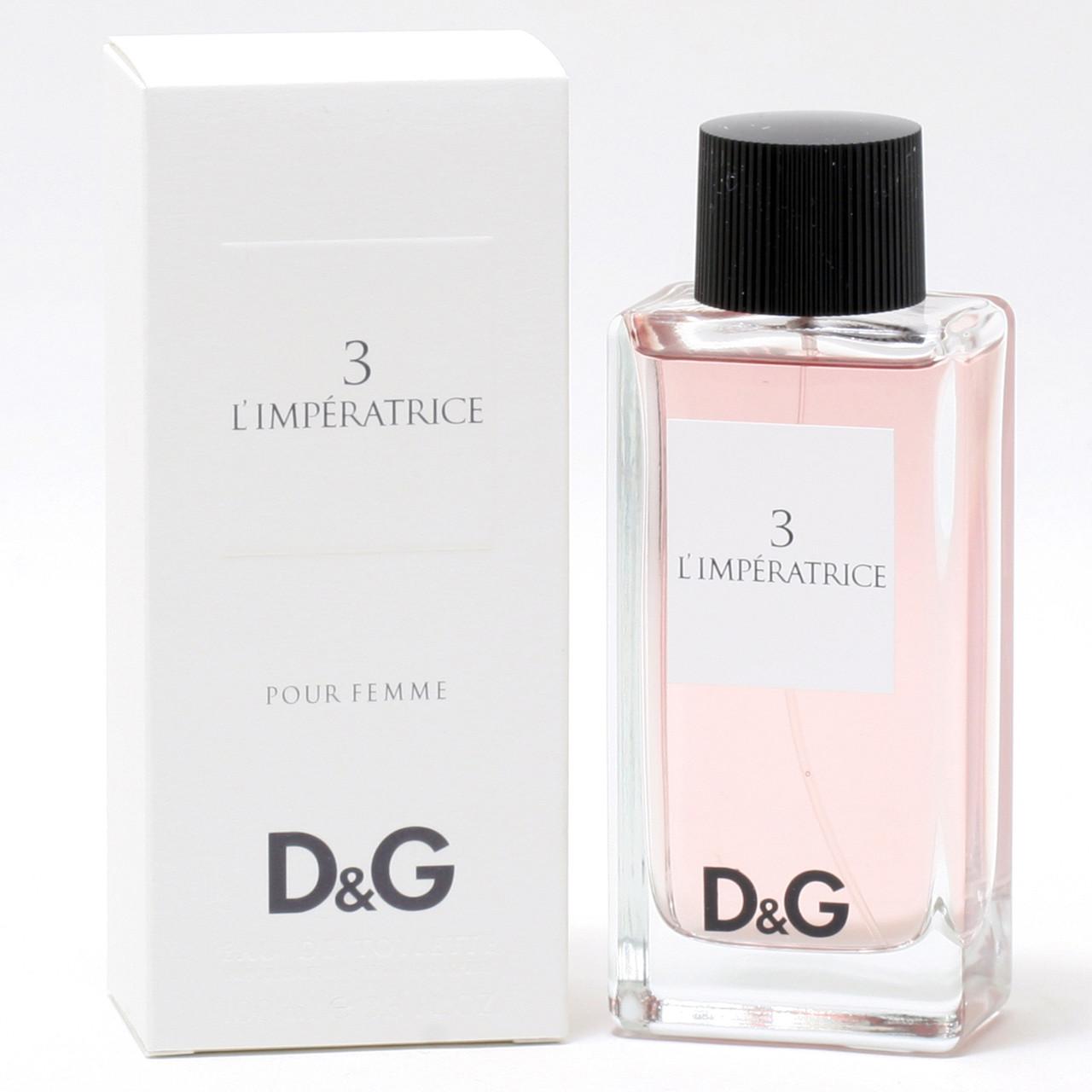 Духи/парфуми Dolce Gabbana Anthology L`Imperatrice 3   TESTER