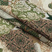Жаккард новогодний спирит /spirit зеленый,люрекс 146506, фото 1