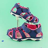 Спортивные босоножки на девочку детская летняя обувь тм Tom.m р.20,21,22,24,25