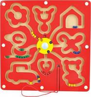 Деревянный лабиринт с шариками-Фигуры Д278