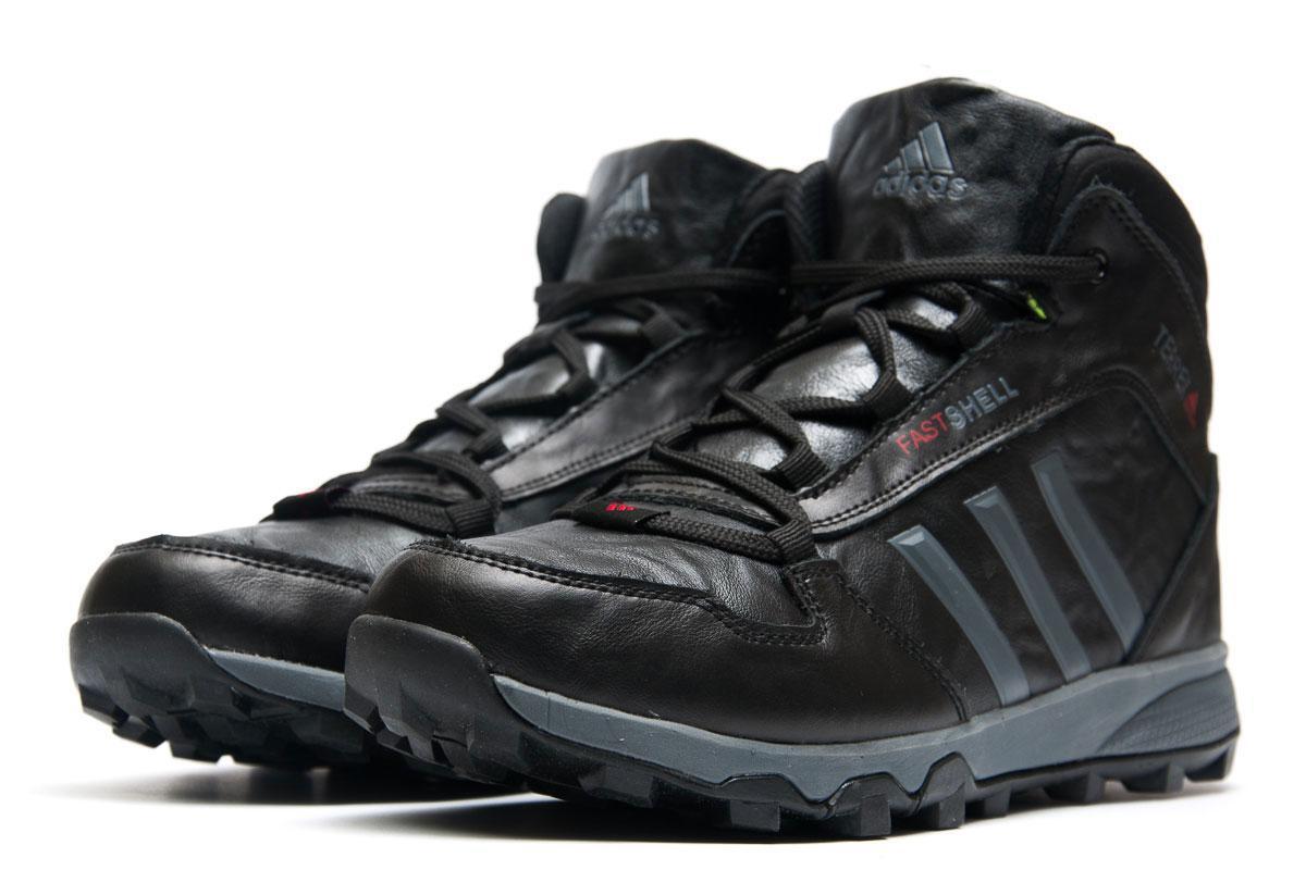 Зимние кроссовки в стиле Adidas Terrex Fastshell, черные (3205-4),  [  41 (последняя пара)  ]