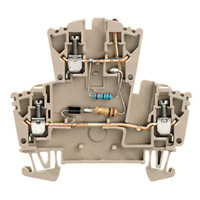 Модульные клеммы Weidmuller WDK 2.5 GL 330K 230VAC - 8013840000