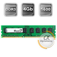 Модуль памяти DDR3 4Gb Kingston (KVR1600D3N9/4G) 1600 (AMD only)