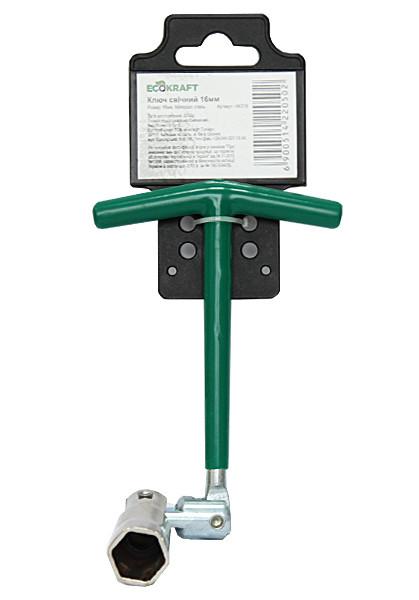 Ключ свечной EcoKraft 16мм (АKS16)