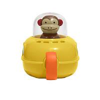 Плавательная игрушка SUNROZ Submarine Monkey обезьянка в подводной лодке Желтый (SUN0761)