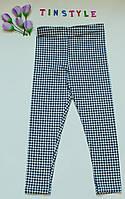 Стильные трикотажные лосины   для девочки рост 98-104 см, фото 1