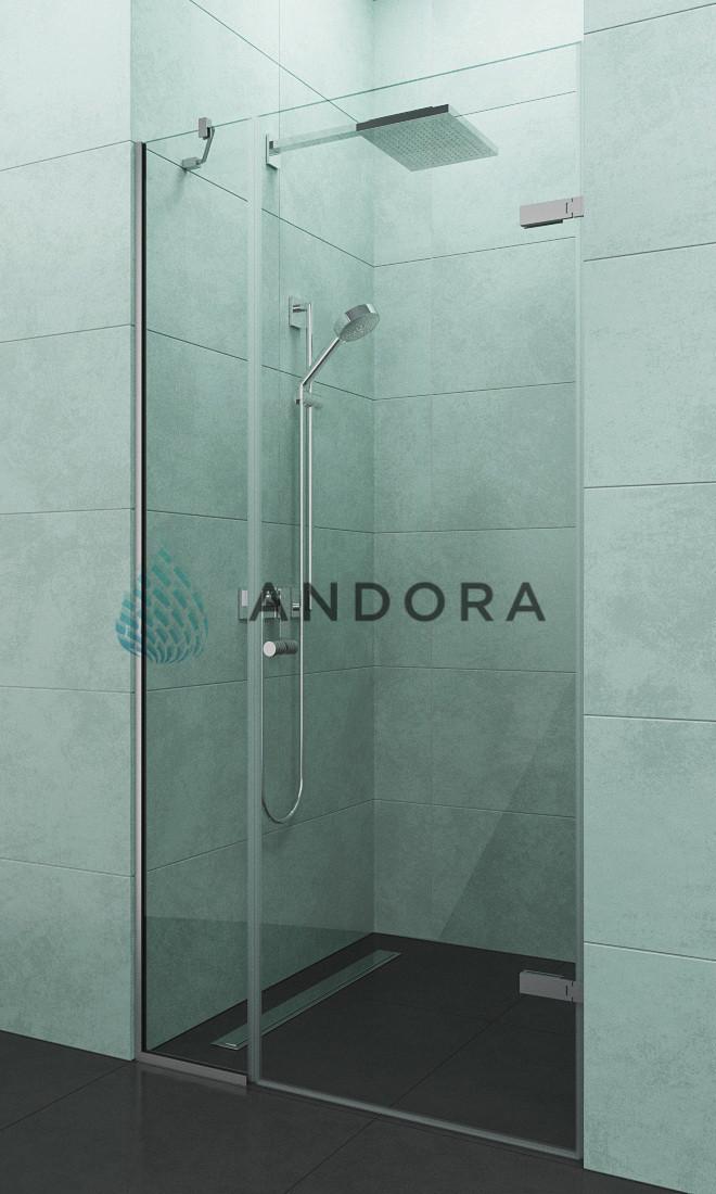 Душевые двери Andora Relax 110x200 стекло clear