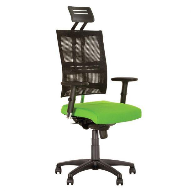 Кресло руководителя для работы за компьютером @motion R-HR PL с подголовником