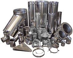 Дымоходы и трубы стальные, керамические, с нержавеющей стали