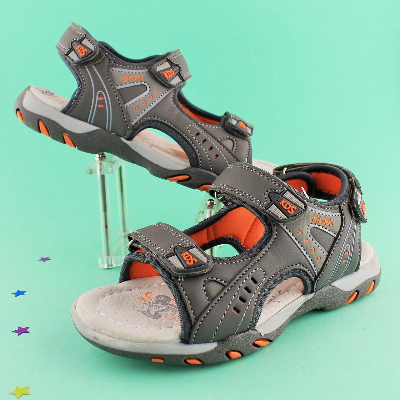 07d69cd3f Спортивные босоножки на мальчика с открытым носком тм Том р. 35 - Style-Baby