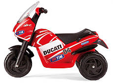 Детский трицикл Peg Perego Ducati Desmosedici 6V, мощность 60W, размер 93*70*60 см, фото 3