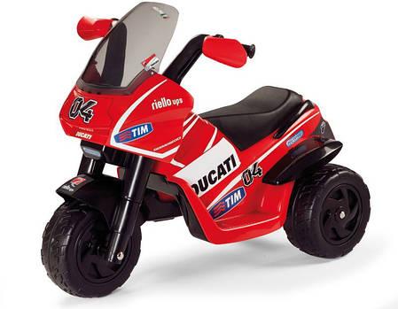 Детский трицикл Peg Perego Ducati Desmosedici 6V, мощность 60W, размер 93*70*60 см, фото 2