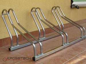 Велопарковка на 3 велосипеди Cross-3 Польща