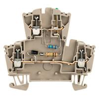 Модульные клеммы Weidmuller WDK 2.5 LD/GN 1D 2R 230 - 1303670000