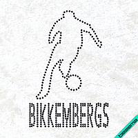 Термопереводки для бизнеса на сапоги Bikkembergs  (Стекло,2мм-черн.)