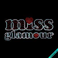Термотрансферы на галстуки Miss Glamour (Стекло,2мм-красн.,3мм-бел.)