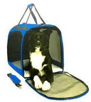 Сумка каркасная с окном для переноски животных , палатка - переноска , 61*43*51см, контейнер для животных