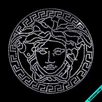Аплпикации, латки на пончо Логотип (Стекло,3мм-бел.)