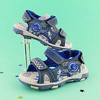 Детская летняя обувь босоножки спорт для мальчика тм Тom.m р.21,22,24