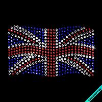Термоперевод на полотенца United Kingdom (Стекло,3мм-бел.,2мм-син.,2мм-красн.)