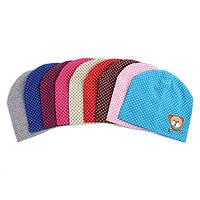 Краща пропозиція від 7км - ціна на дитячі трикотажні шапки оптом від 50 грн.