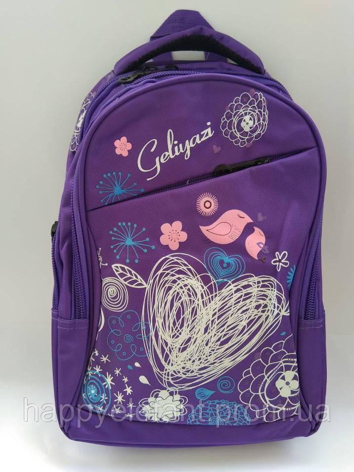 61093568094b Школьный рюкзак ранец для девочки 1-5 класс -