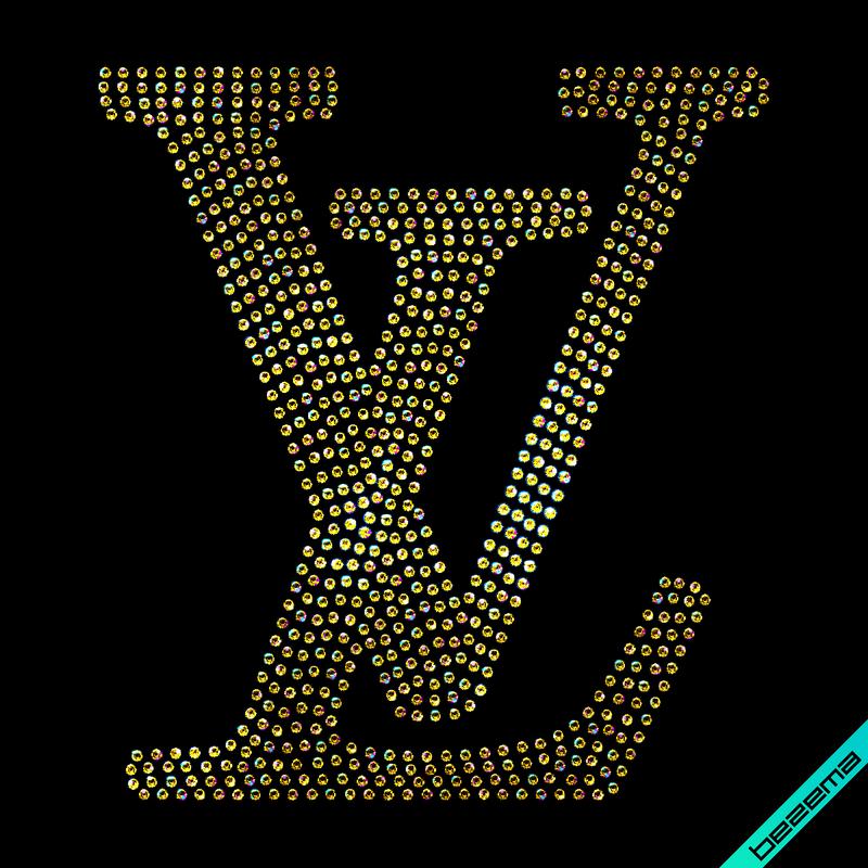 Дизайн на брюки Логотип (Стекло,3мм-зол.)