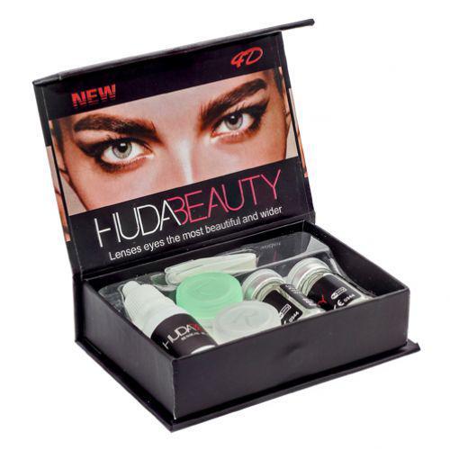 Линзы косметические цветные Huda Beauty Gemstone Green (зеленые)