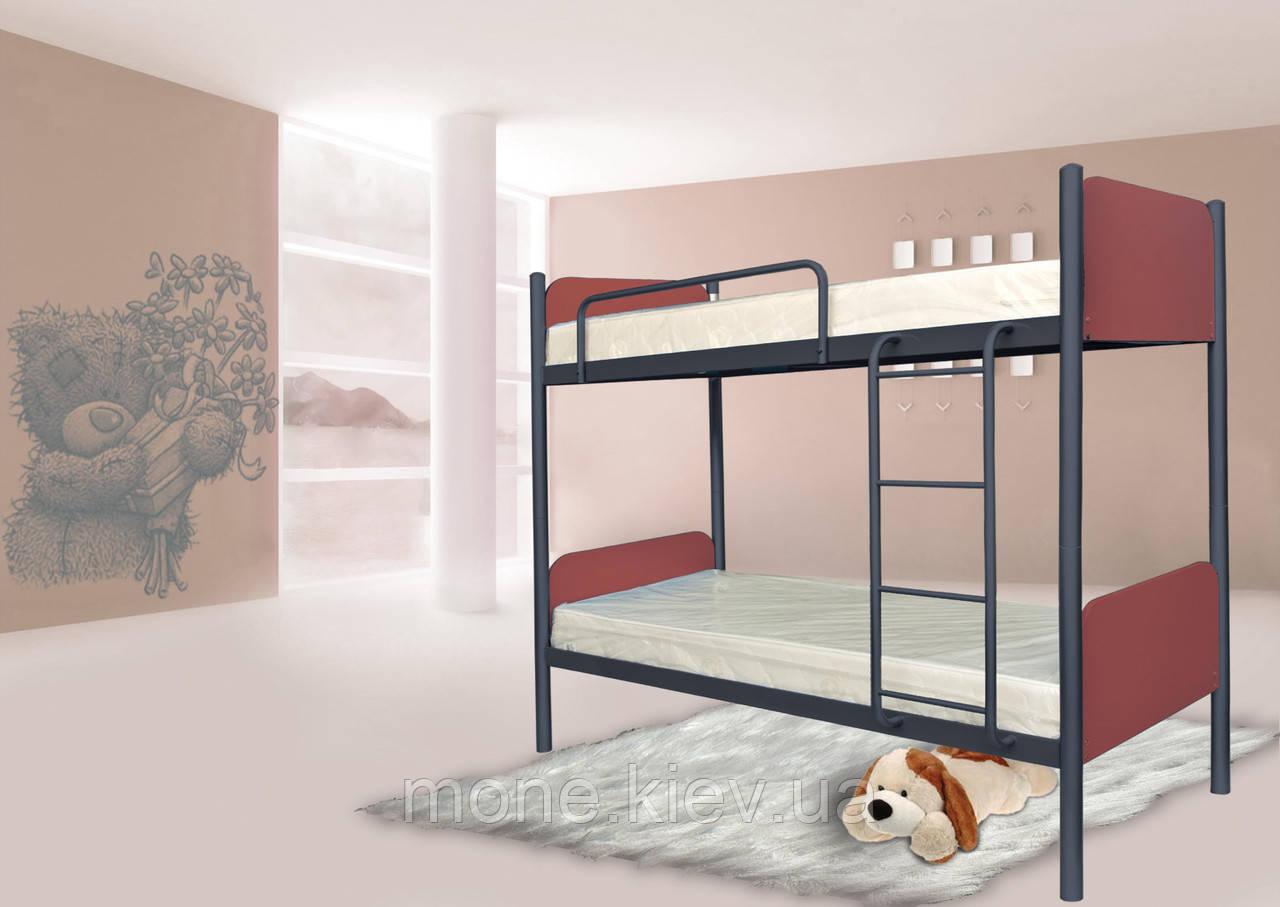 Двухъярусная кровать металлическая Arlekino(Арлекино)
