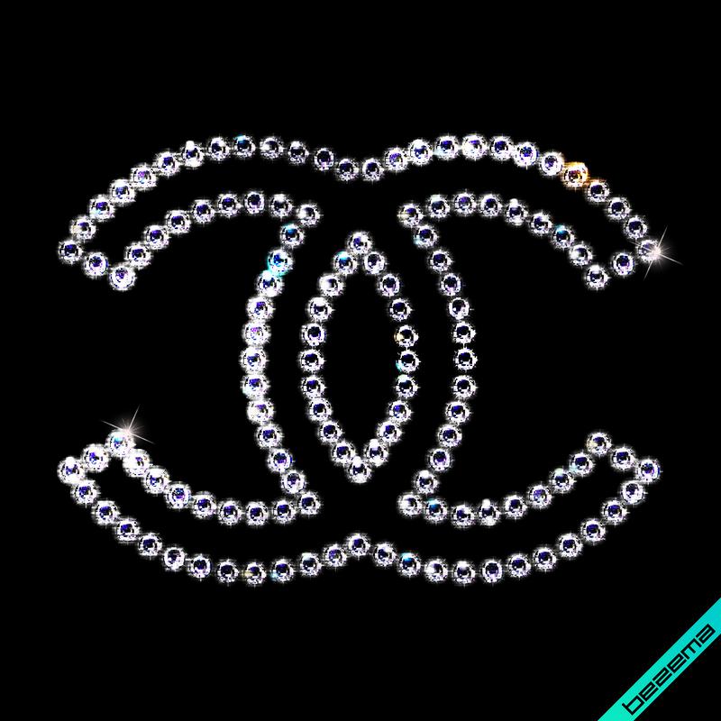 Термотрансферы на дубленки Логотип (Стекло,3мм-бел.)