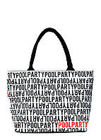 Коттоновая сумка POOLPARTY с трендовым принтом, фото 1