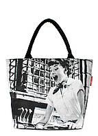 Коттоновая сумка POOLPARTY Dolce Vita