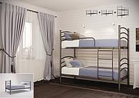 Двухъярусная кровать металлическая Маргарита