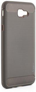 Чехол iPaky для Samsung J5 Prime - slim TPU case черный серый