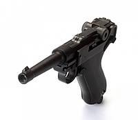 Пневматический пистолет KWC P-08 Luger KMB41D BLOWBACK, фото 1