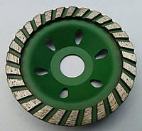 Фреза алмазная торцевая  для шлифовки бетона, гранита, кирпича Turbo 100x10x3,5x22 №0 грубое