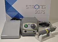 Портативная бормашина Strong 207S/106, 45 000 об/мин. Мощность -200 Вт. Гарантия 1 год.
