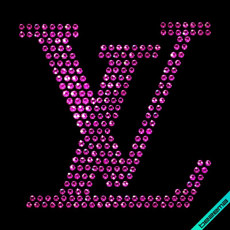 Термотрансферы на куртки Логотип (Стекло, 3мм-фуксия.)