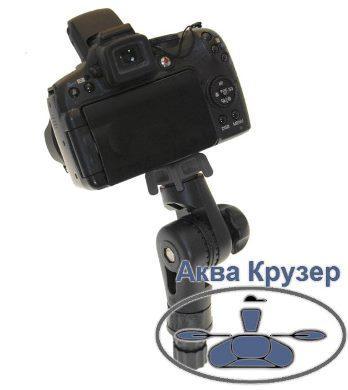 """Borika FASTen Tp014 Держатель для фото-видео техники с резьбой 1/4"""" для лодок, цвет черный"""