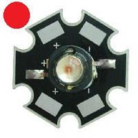 Светодиод 3 Вт (3 W) красный