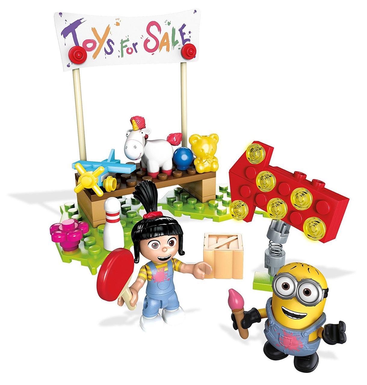"""Конструктор Мега Продажа игрушек у Агнес Mega Construx Despicable Me Agnes Toy Sale - Интернет магазин """"COOL-DOLL"""" в Запорожье"""