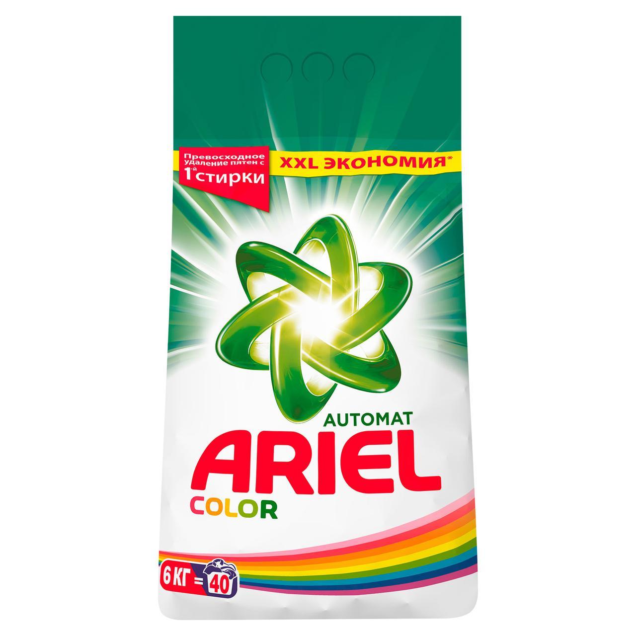 Порошок стиральный Ariel 6кг Color автомат