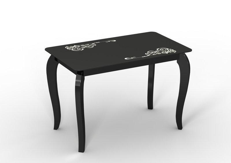 Стол обеденный стеклянный Император Классик 110х65 (Sentenzo TM)