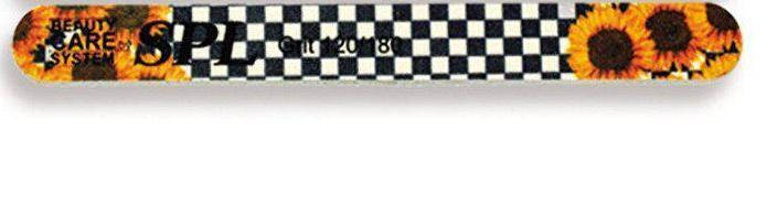 Пилка для ногтей 120/180 SPL DF-517, фото 2