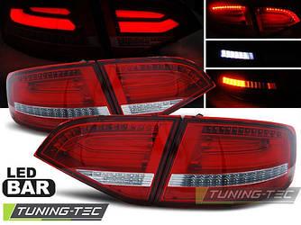 Стопы фонари тюнинг оптика Audi A4 b8 Avant
