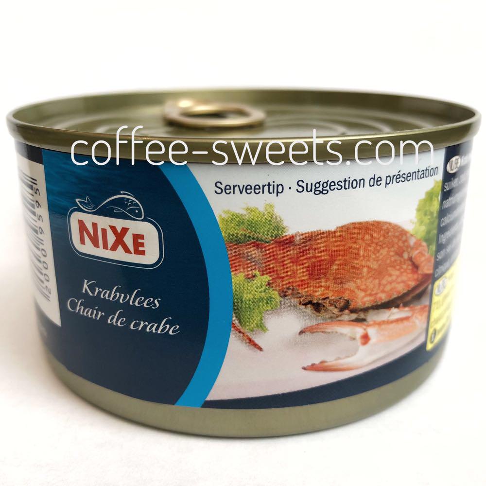 Мясо краба NIXE в собственном соку 170г