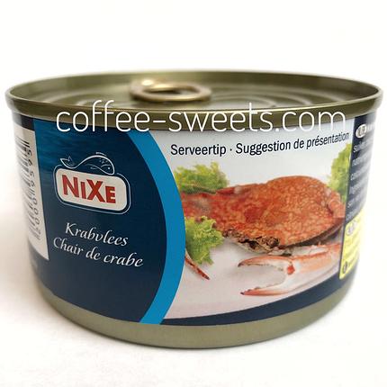 Мясо краба NIXE в собственном соку 170г, фото 2