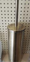 Ершик для унитаза бронза 6-040