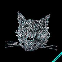 Термотрансферы на изделия из ткани Кошка (Стекло, 3мм-бенз.)